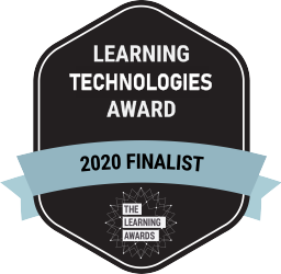 External Learning Solution of the Year - 2020 Finalist