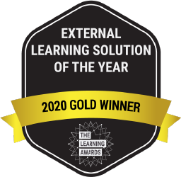 External Learning Solution of the Year - 2020 Gold Winner